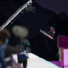 2014.02.11 Sarka Pancochova (CZE) first hit at the XXII Olympic Winter Games, Sochi2014. Ladies Snowboard Halfpipe Semifinals round at the Rosa Khutor Extreme Park, Russia.