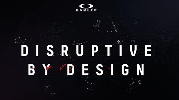 oakley brand  OAKLEY RELEASES \u0027A STORY OF DISRUPTION\u0027 GLOBAL BRAND FILM NARRATED ...